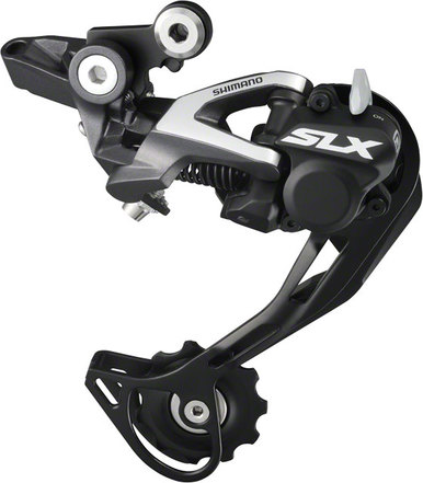 Shimano -  SHIMANO Заден Дерайльор SHIMANO RD-M675, SLX SGS 10-SPEED TOP-NORMAL SHADOW PLUS DESIGN, DIRECT ATTACHMENT