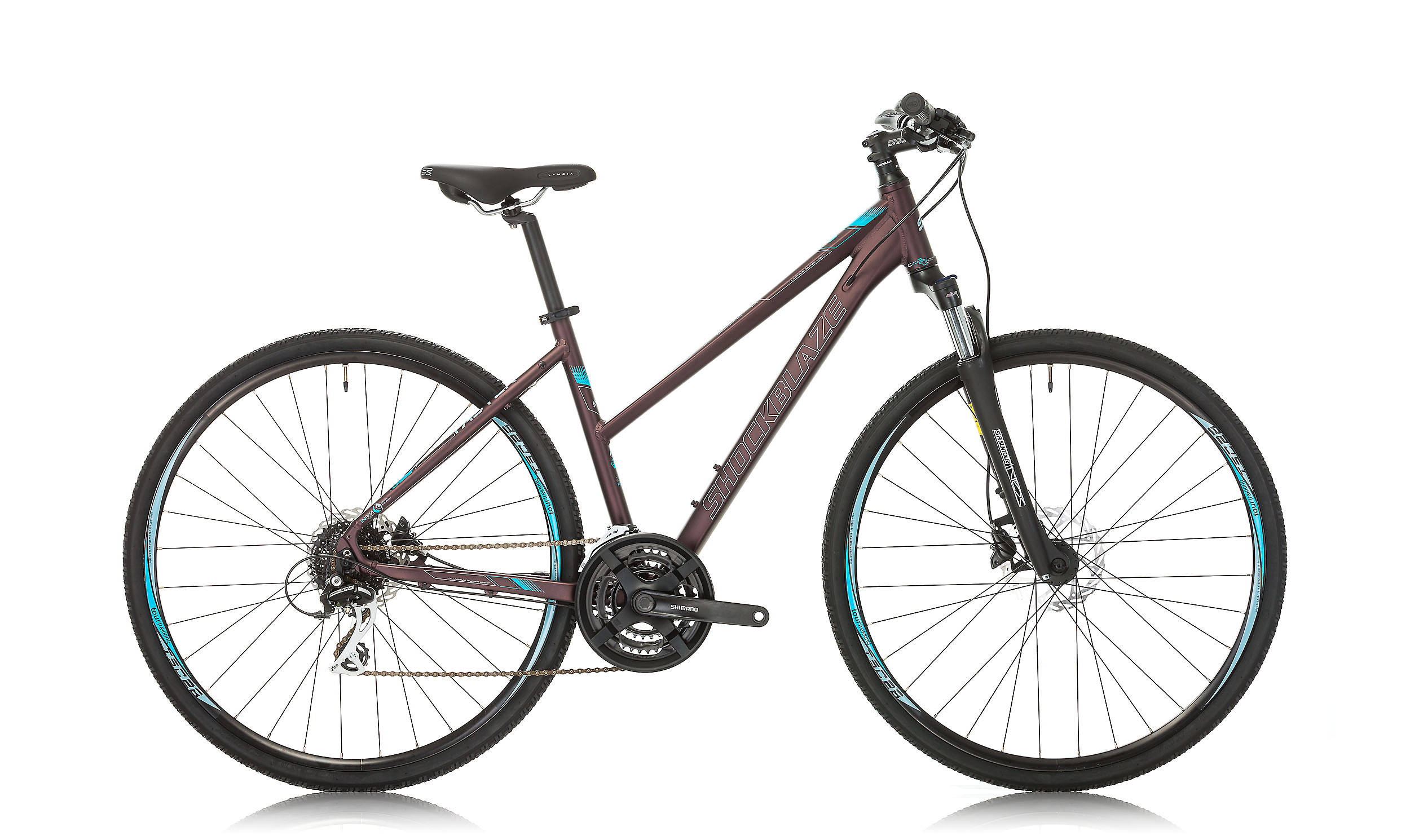 Shockblaze - Градски велосипед SHOCKBLAZE FASTER LADY ALTUS 28""